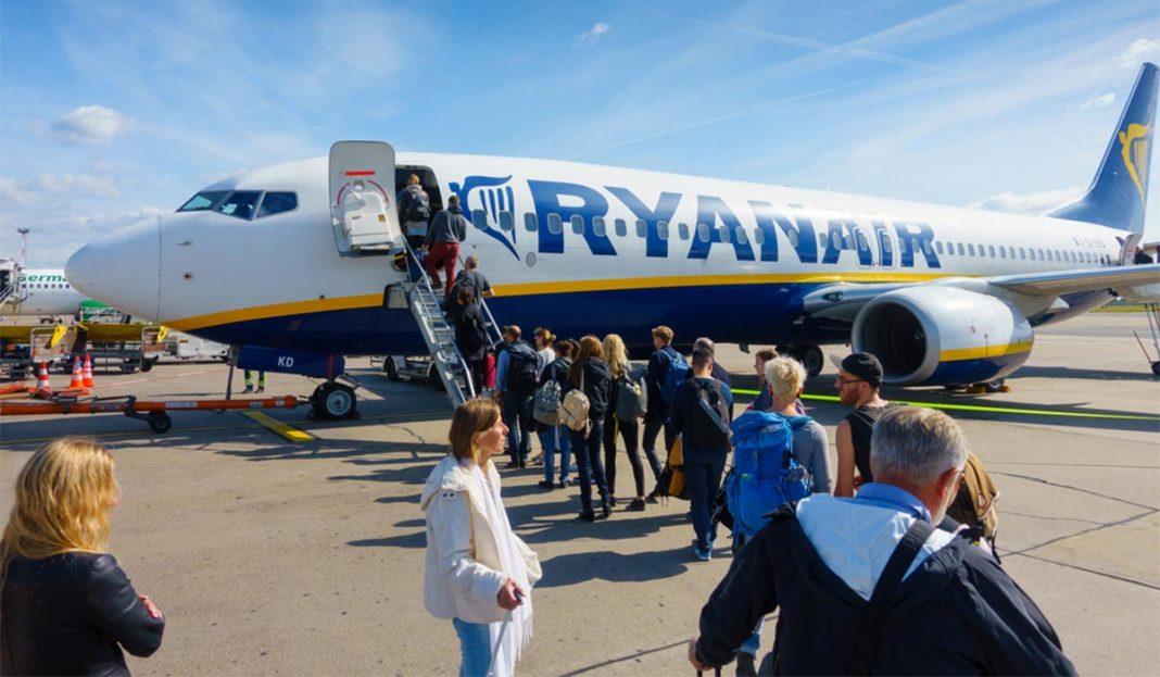 cf509245a5ebb Spoločnosť Ryanair má trochu odlišný postup pri nastupovaní do lietadla,  než ostatné letecké spoločnosti.