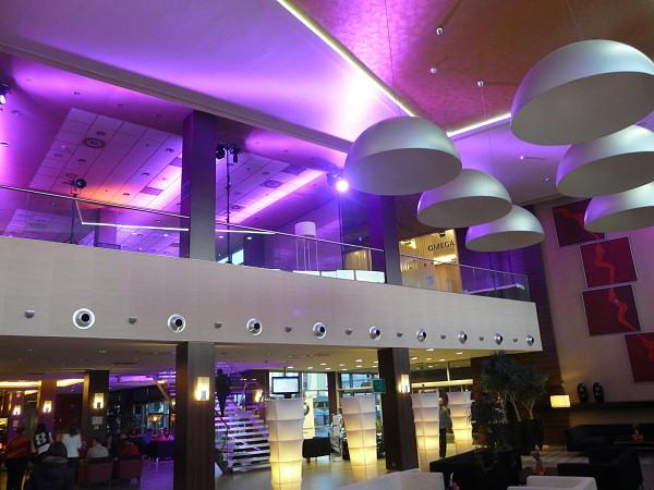Lobby v hoteli Holiday Inn Žilina