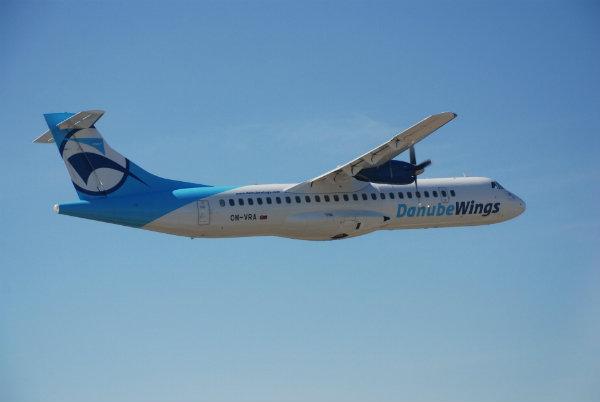 Lietadlo ATR spoločnosti Danube Wings