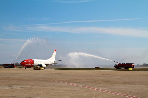 Boeing 737 spoločnosti Norwegian Air Shuttle