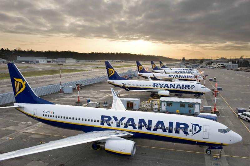 Flotila Boeingov 737-800 spoločnosti Ryanair