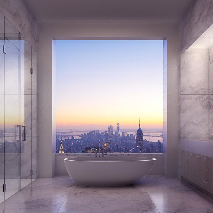 Penthouse v 432 Park Avenue - Kúpeľňa