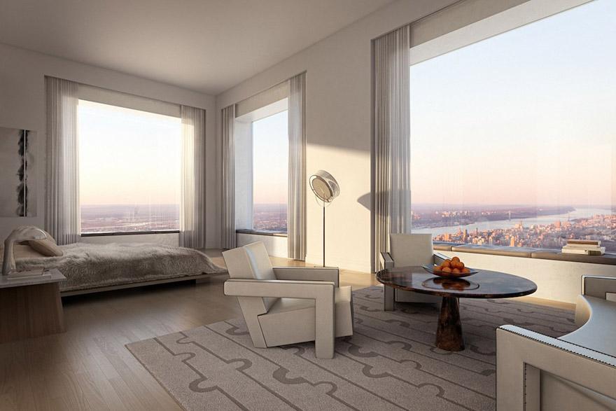 Penthouse v 432 Park Avenue - Spálňa