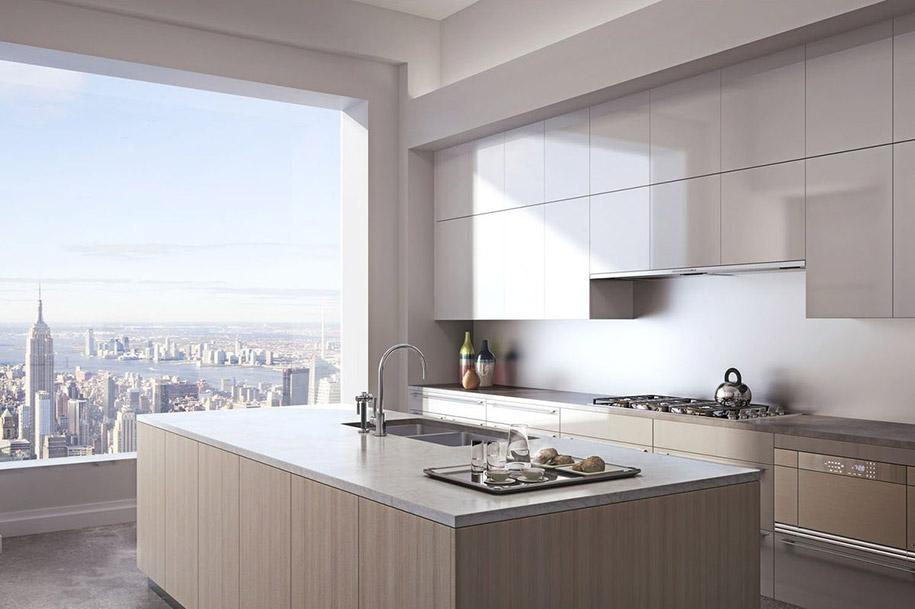 Penthouse v 432 Park Avenue - Kuchyňa