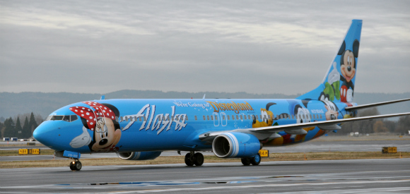 Alaska Air - Disneyland