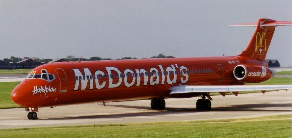 Crossair - McDonald's