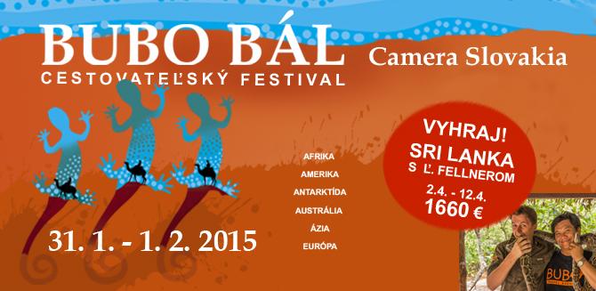 Cestovateľský festival BUBO bál 2015