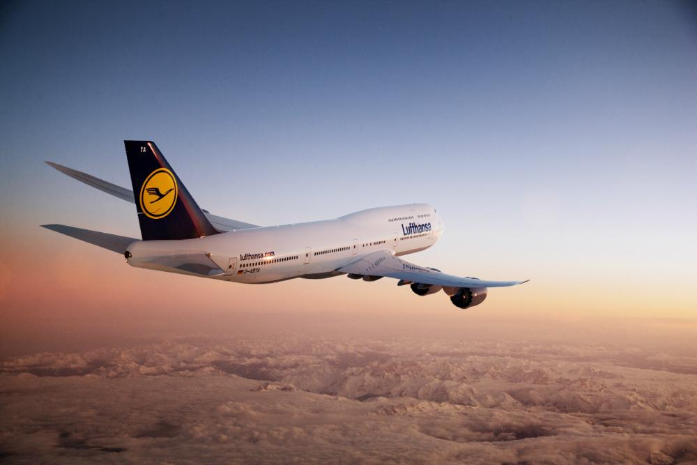 Boeing 747-8 spoločnosti Lufthansa