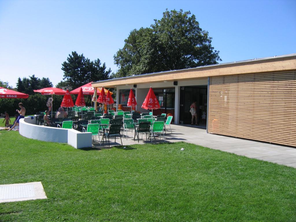 Kúpalisko Prellenkirchen - bufet/reštaurácia